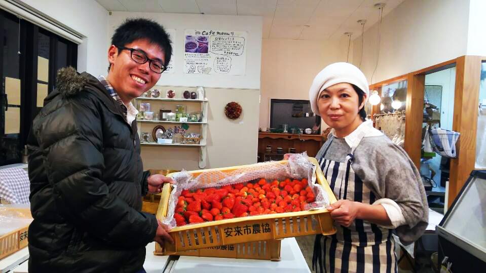 イチゴ農家