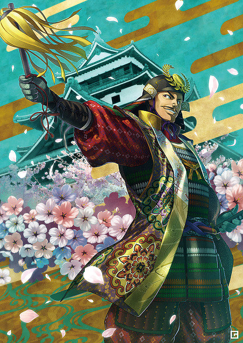 吉春公と春の松江城
