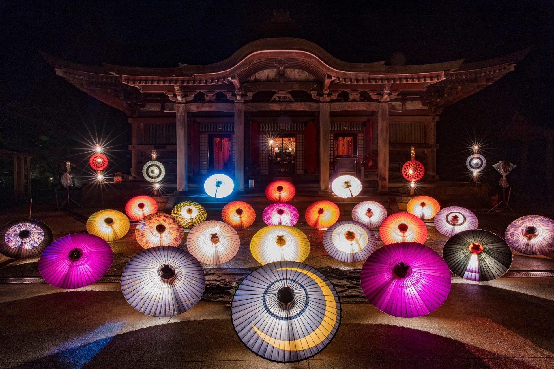 柄木 孝志さん撮影:「和傘灯り」