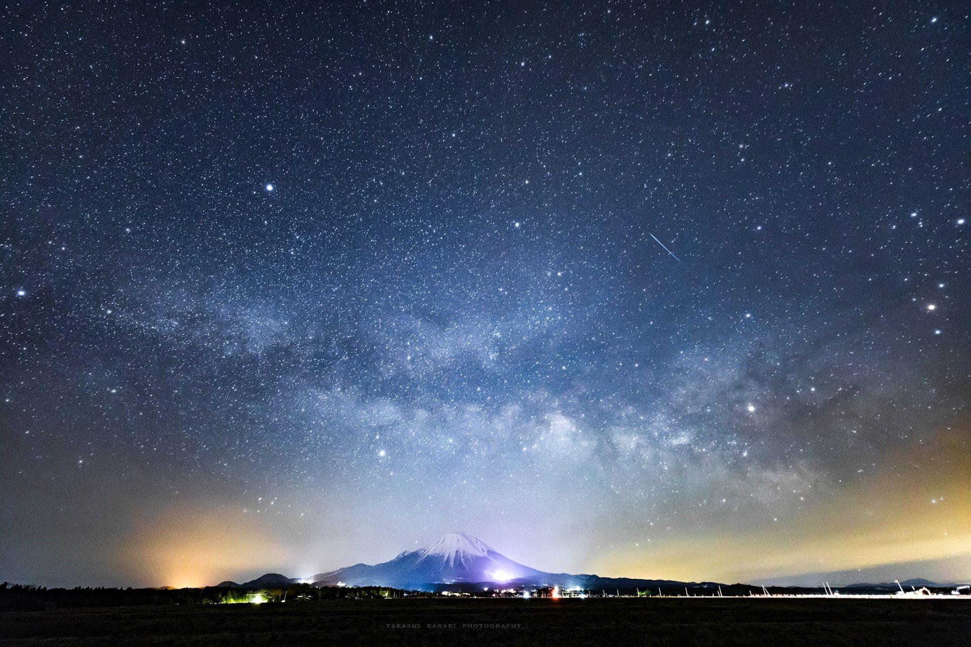 柄木 孝志さん撮影:「星明かりの下で」