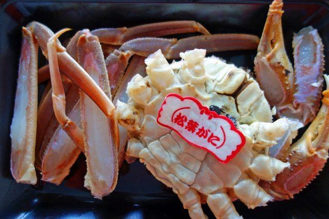 鳥取県で食べられる蟹の種類 松葉ガニ