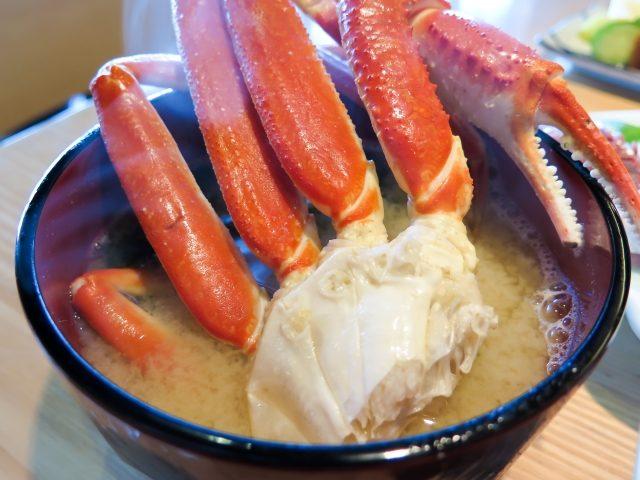 鳥取県で食べられる蟹の種類 ズワイガニのメス