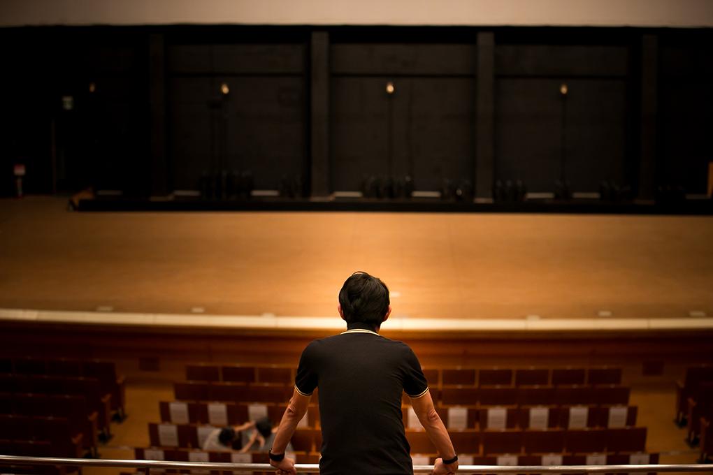 米子市公会堂の大ホール。